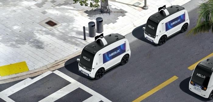 Neolix: Lieferungen ohne Fahrer pünktlich und sicher am Ziel ( Bildnachweis NEOLIX)