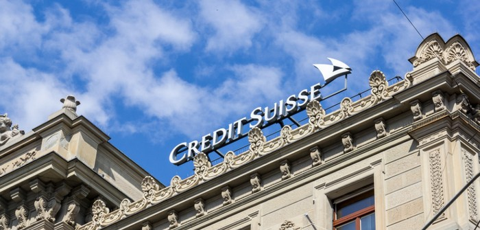 Credit Suisse: 275 Millionen US-Dollar Verlust nach Übernahme von Hedge Fonds (Foto: shutterstock - Si-yue Steuber)